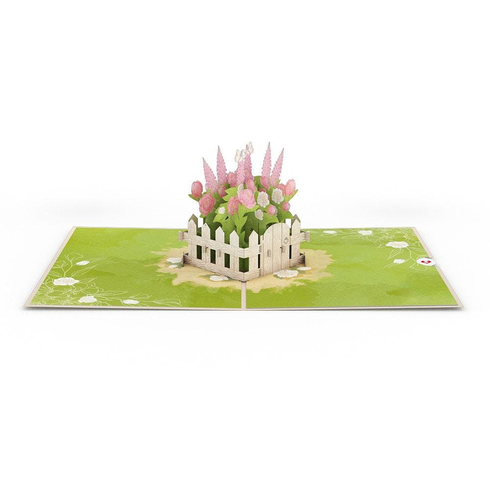 Wildblumengarten, Pop-Up Karte