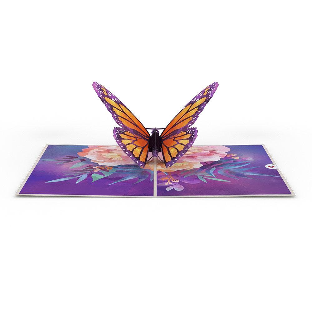 Monarchfalter, Pop-Up Karte