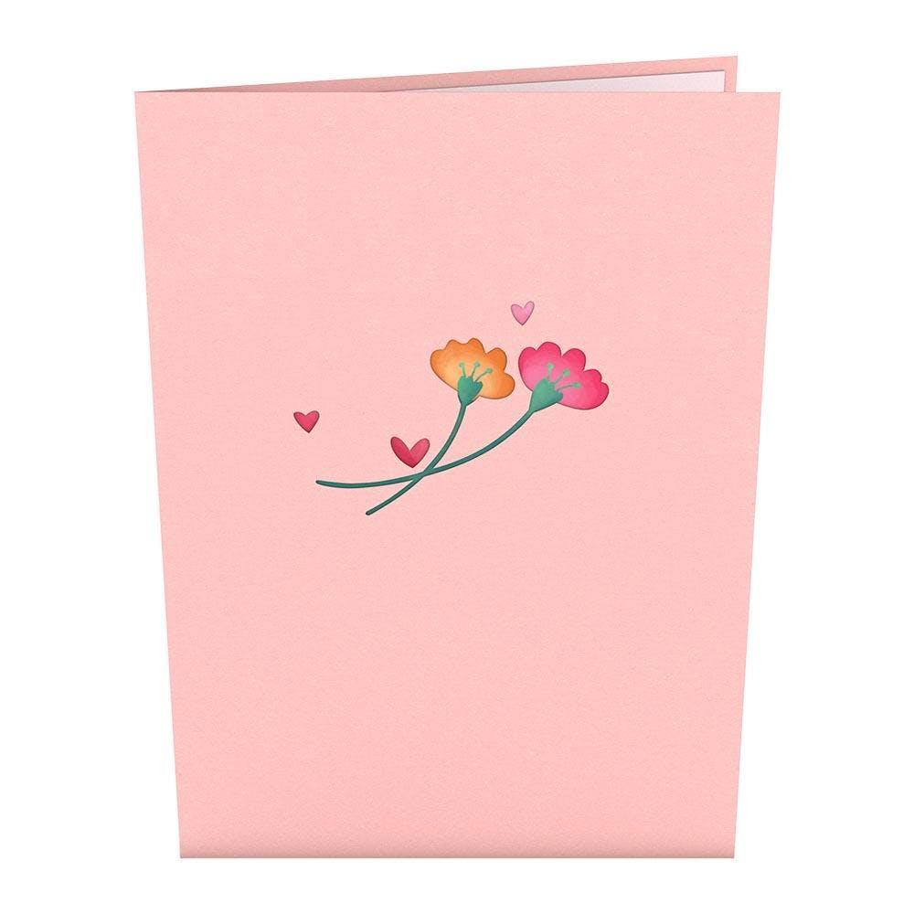 Floral Love, Pop-Up Karte