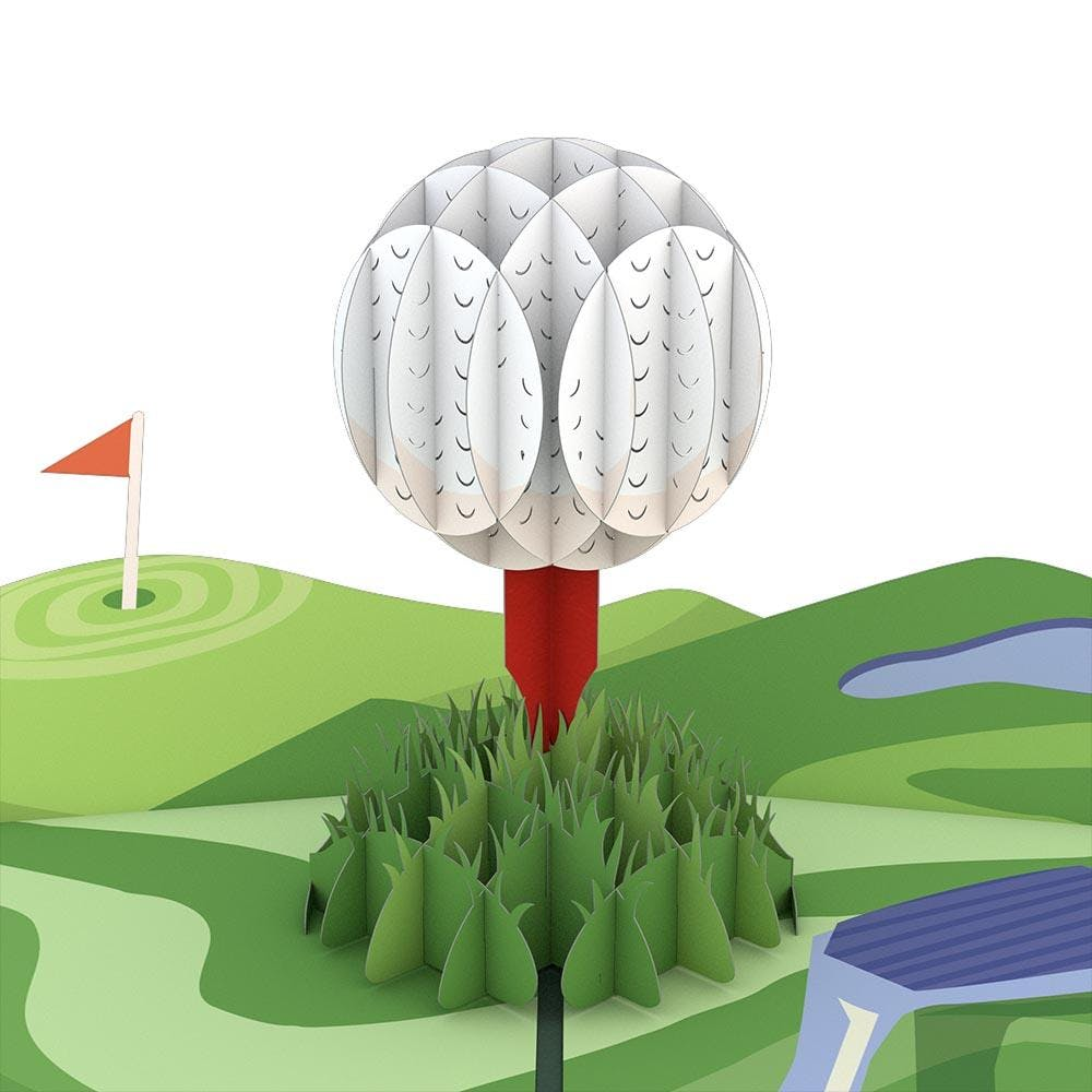 Hole in One, Pop-Up Karte