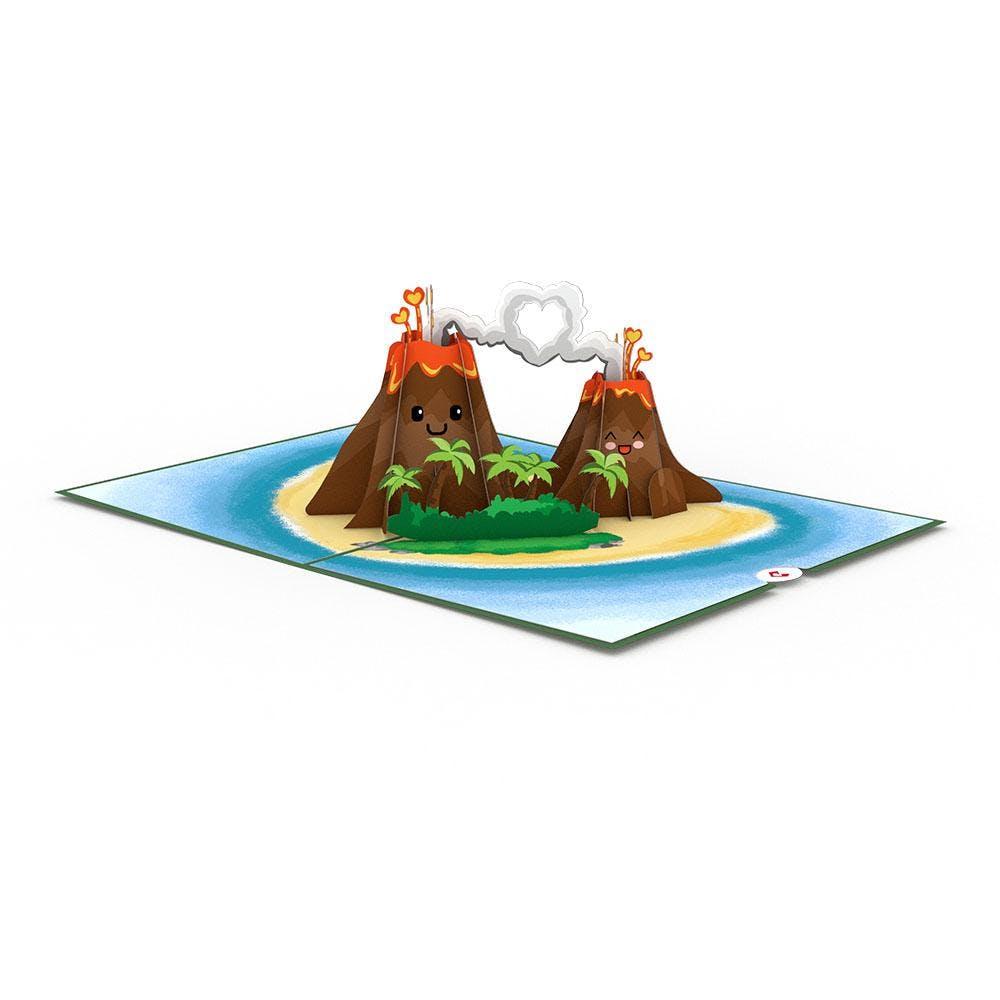 I Lava You, Pop-Up Karte