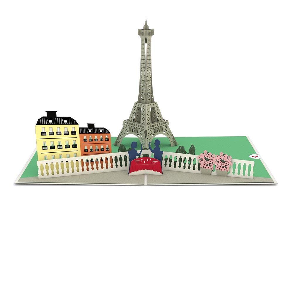 Paris Love, Pop-Up Karte