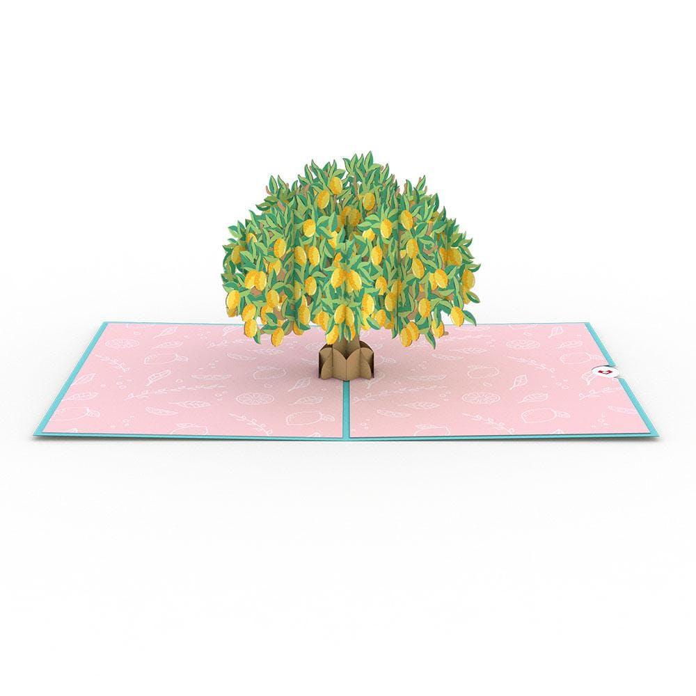 Zitronenbaum, Pop-Up Karte