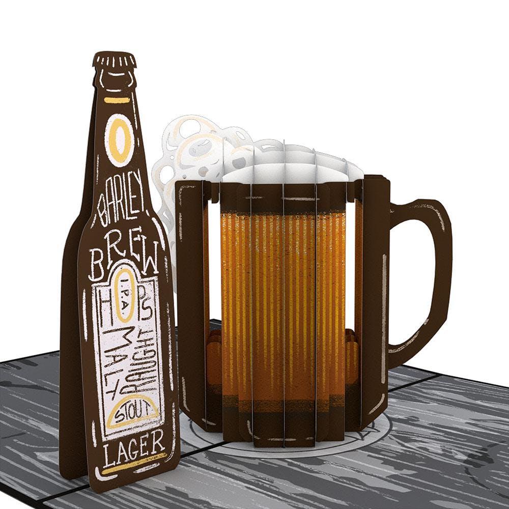 Beer-th Day, Pop-Up Karte