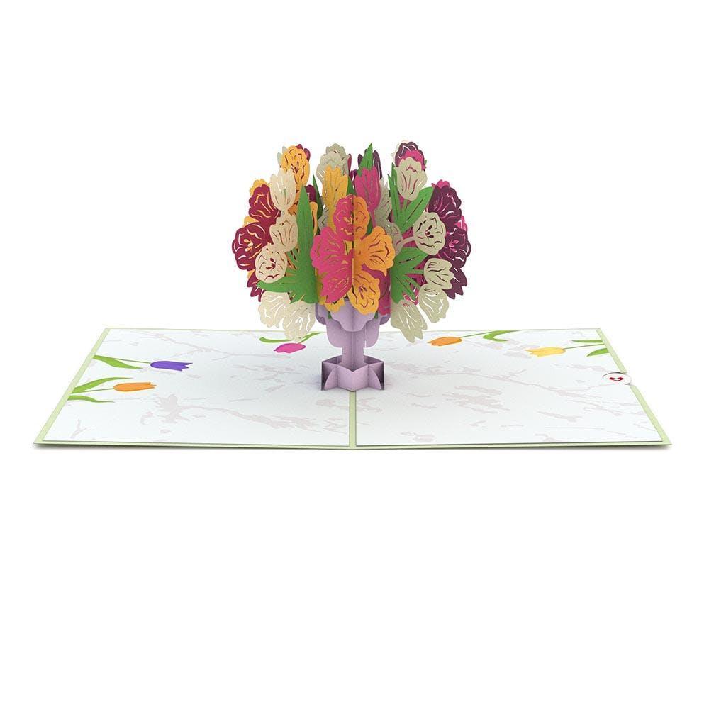 Tulpen, Pop-Up Karte