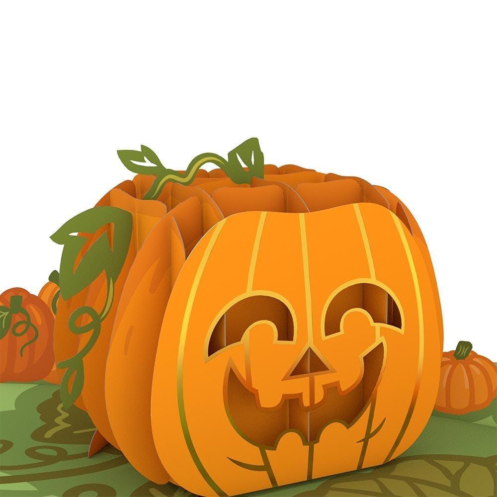 Happy-Halloween-Kürbis