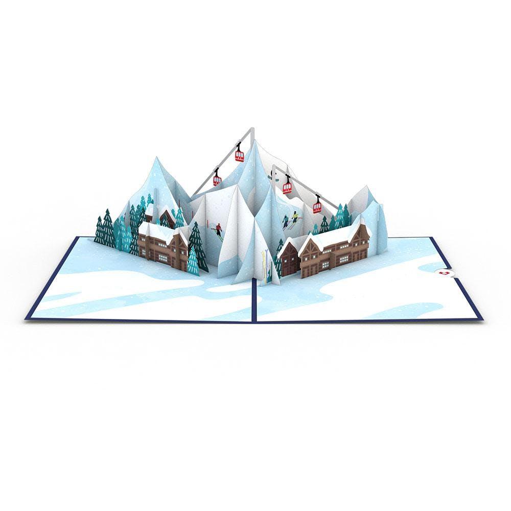 Skidorf, Pop-Up Karte