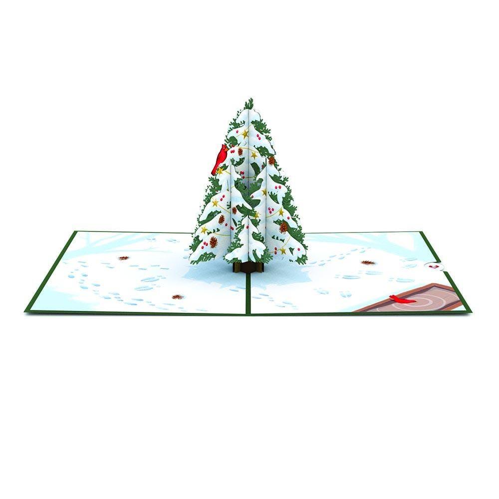 Weihnachtsbaum, Pop-Up Karte