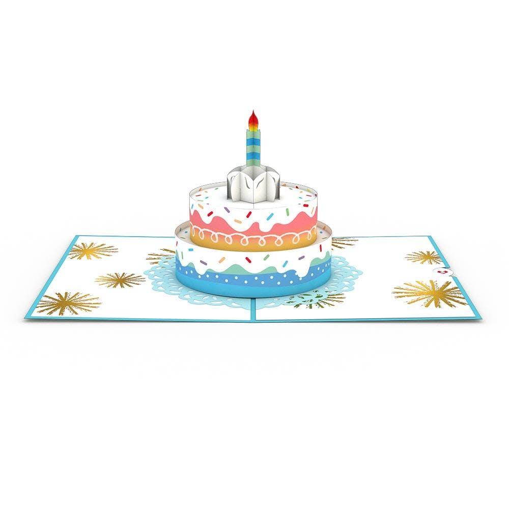 Rainbow-Geburtstagstorte