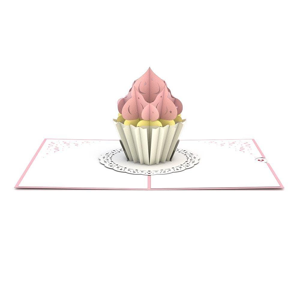 Cupcake, Pop-Up Karte