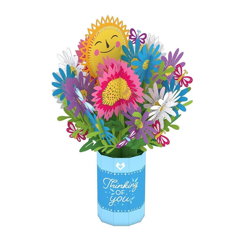 Thinking of You, Pop-Up Blumen