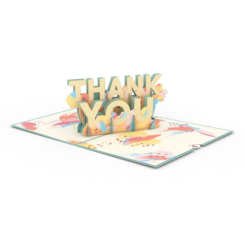 Thank You, Pop-Up Karte