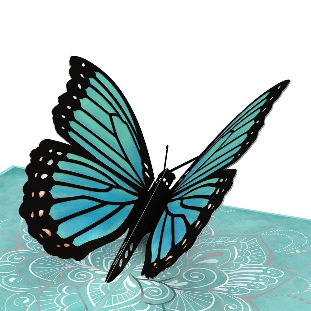 """Schmetterling """"Muttertag"""", Pop-Up Karte"""