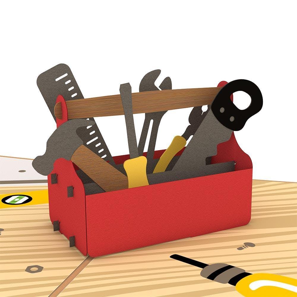 Werkzeugkiste, Pop-Up Karte