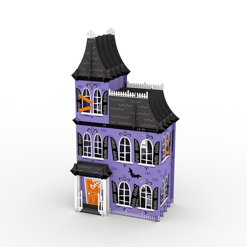 Spukhaus, Pop-Up Dekoration